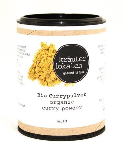 Bio Currypulver mild