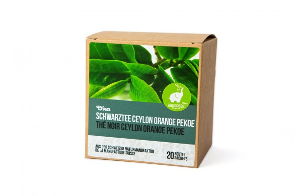 Bio Schwarztee Ceylon Orange Pekoe