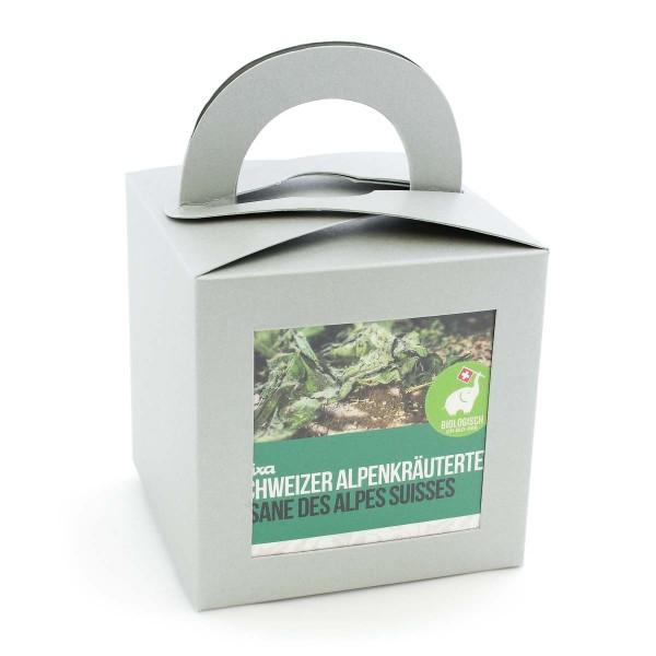 Bio Schweizer Alpenkräutertee Geschenkverpackung