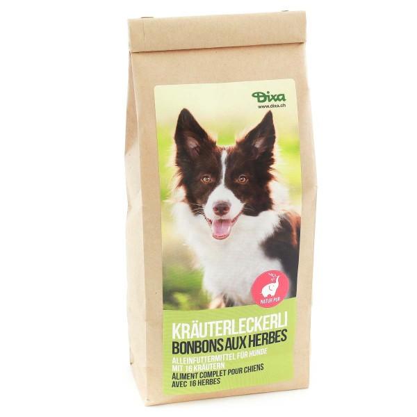 Kräuterleckerli für Hunde 250g - Ergänzungsfutter